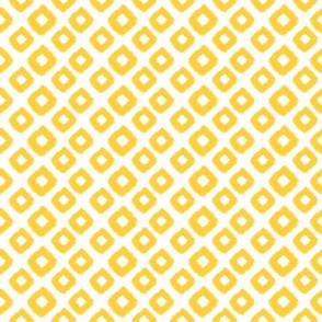 Ikat Diamond Yellow Citron