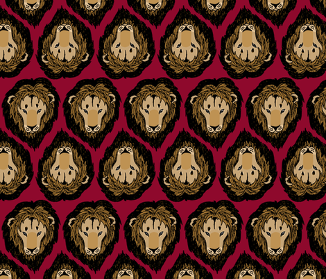 Leo fabric by pond_ripple on Spoonflower - custom fabric