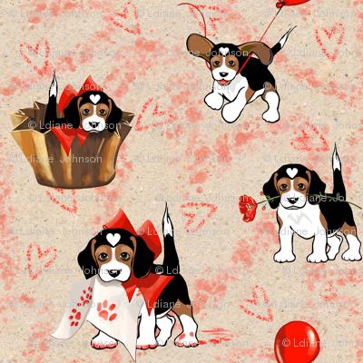 Be My Valentine? | Love Puppy | The Love Beagle
