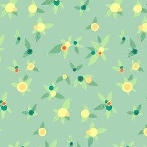 Fresh Floral - Mint