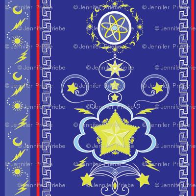 Astrological Damask