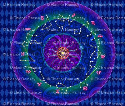 The Zodiac in the Heavens
