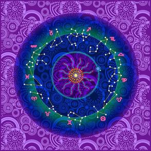 Zodiac in the Heavens Pillow