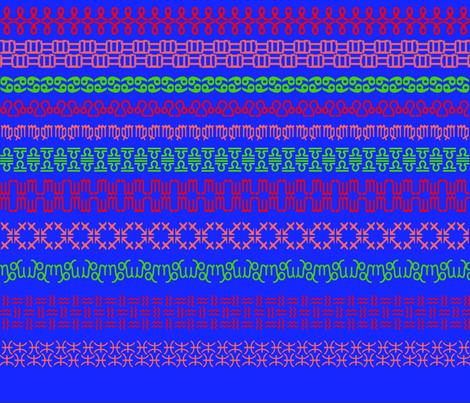 Astrology Sweater (a la Fair Isle) fabric by anneostroff on Spoonflower - custom fabric