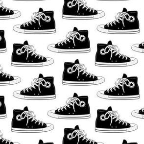 Retro Shoes - black - Chucks