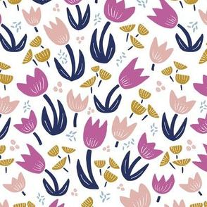 Tulips Scandi Pink