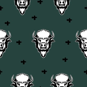 Bison Dark Green