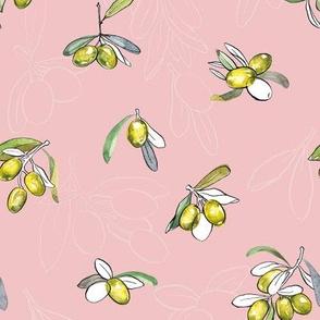 Sweet Pink Kitchen Olives
