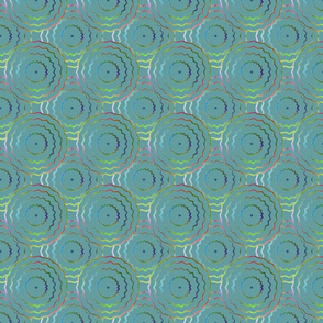 Plasma Rings on Aqua