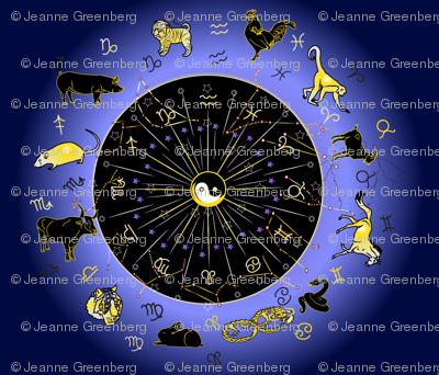 East Meets West Zodiac