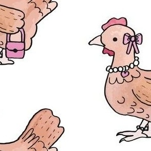 Chicken with a Purse