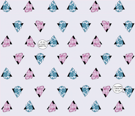 Ardently Admired fabric by anobledesigner on Spoonflower - custom fabric