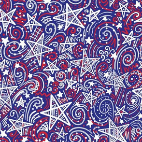 Starlight (Red, White and Blue)