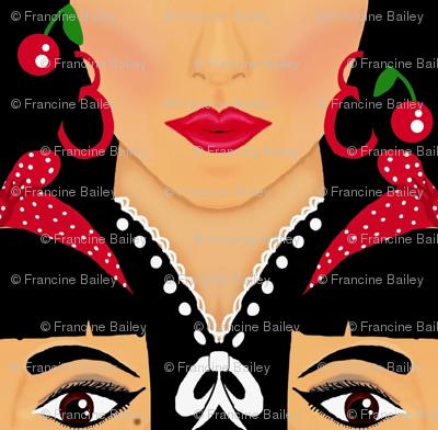 Lipstick & Cherries / Wild