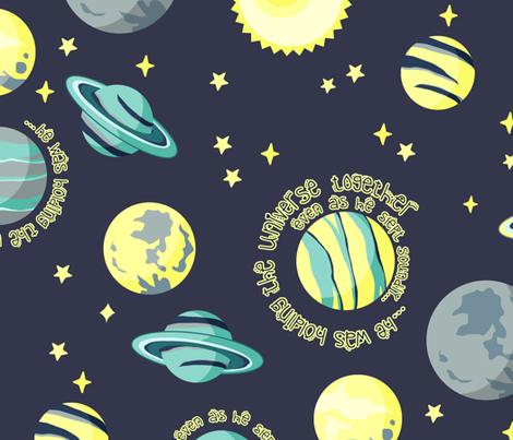 Star Creator fabric by gingerlique on Spoonflower - custom fabric