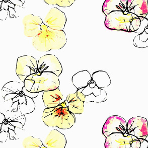 Violets - fauves