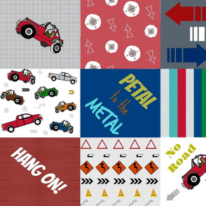 jeep quilt  LARGE 21-quotes