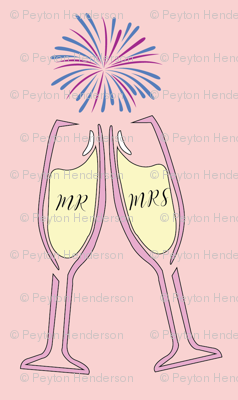Mr. & Mrs. Champagne