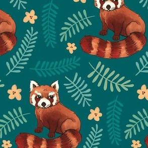 Red Pandas Spoonflower