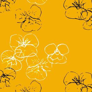 Violets - sparkles 2