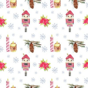Christmas Pattern Candles