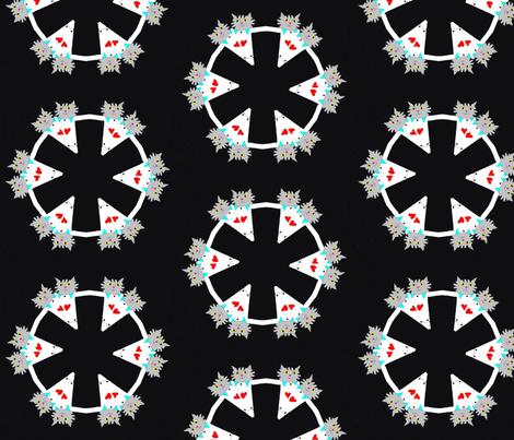 Kitty Cones fabric by jam_jar_marr on Spoonflower - custom fabric