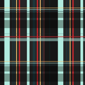 DarkGray and Blue Plaid V.02