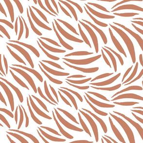 Acrylic Paint Daubs || Terracotta
