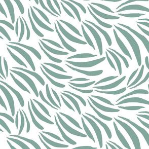 Acrylic Paint Daubs || Seafoam green