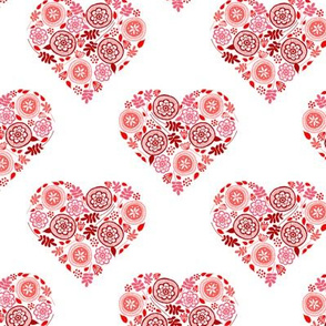 Doodle Hearts - Raccoon's Valentine Companion Piece