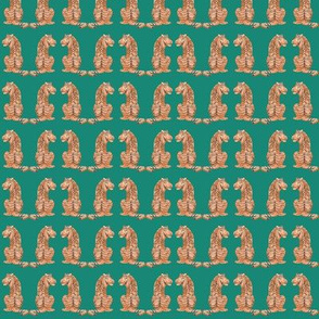 Tiger Pals on Green