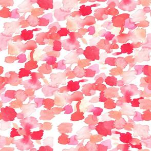 Pink Watercolor Smudges