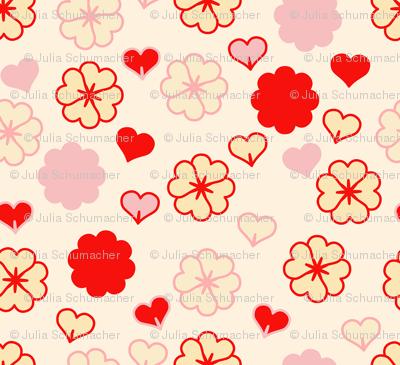 small retro Valentine