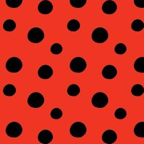 ladybug pattern  2- small