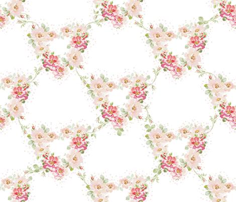 Ellsie alabaster fabric by lilyoake on Spoonflower - custom fabric