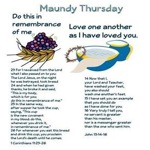 Maundy Thursday patch