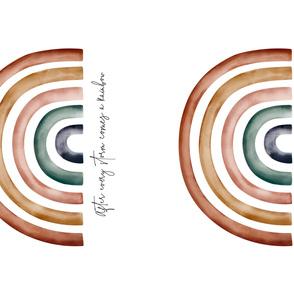 METRIC Rainbow Baby // 2UP // 142cm wide