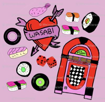 Rock n Roll, Sushi Roll