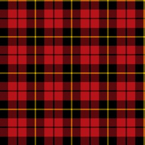 "Wallace clan tartan, 2"" (this size and larger has twill lines)"
