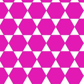 Pink Hexagon
