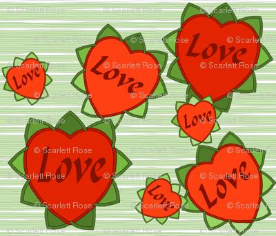 Celtic Love Blooms
