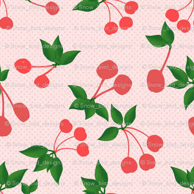 Cherries and Dots Rockabilly