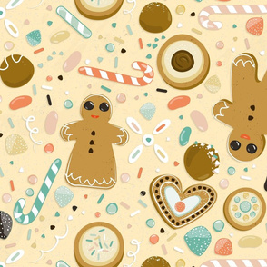 Oh snap... Gingerbread in yellow
