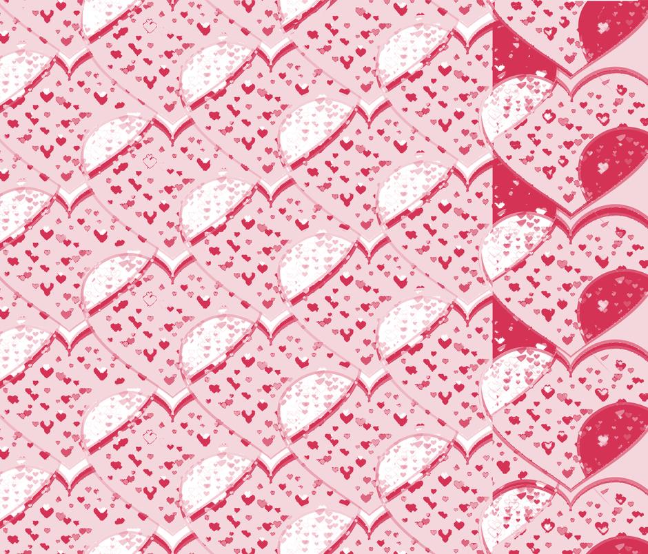 Straight to the Heart fabric by bobbi_bullard on Spoonflower - custom fabric