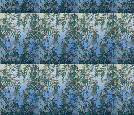 _ 7 Lovers  11x14 _ 500.00 fabric by timothy_f_phillips on Spoonflower - custom fabric