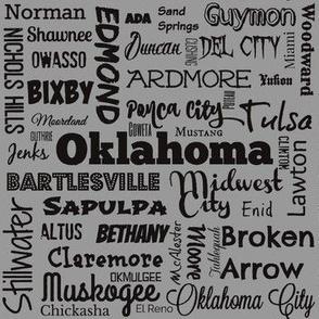 Oklahoma Cities 2, standard gray