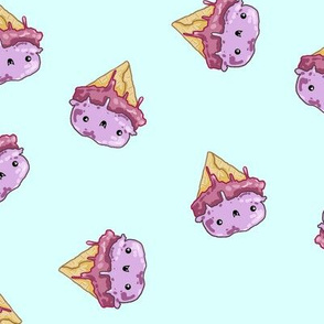 Vampire Ice Cream Cone - Pistachio