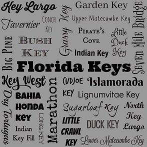 Florida Keys, standard gray