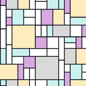Mondrian's stars