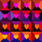 Rspoonflower_-_valentine_hearts_pinkorange21x21x150_shop_thumb